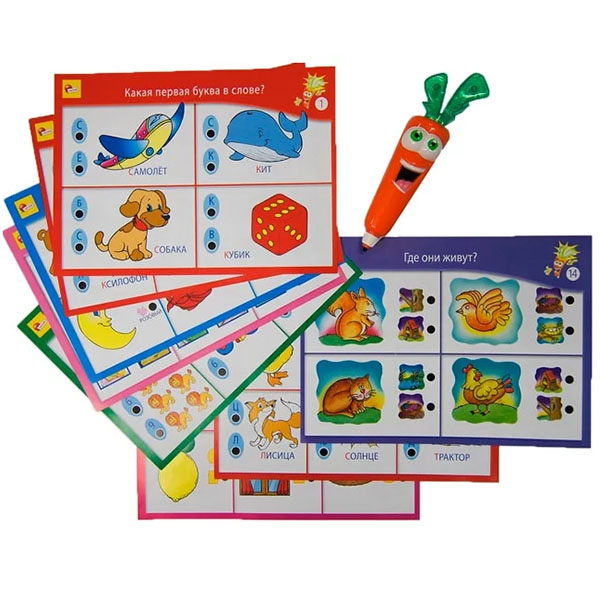 Купить LISCIANI R36523 Обучающая игра ДЛЯ САМЫХ МАЛЕНЬКИХ с интерактивной Морковкой, Настольные игры LISCIANI