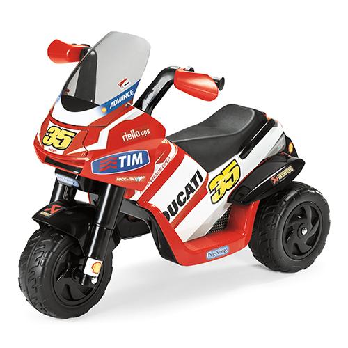 Детский электромобиль Peg-Perego ED0919 Desmosedici, арт:107547 - Трициклы, Электромобили