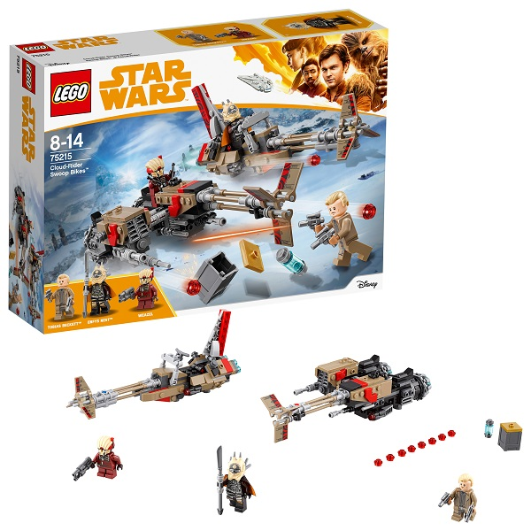 Lego Star Wars 75215 Конструктор Лего Звездные Войны Свуп-байки, арт:154814 - Звездные войны, Конструкторы LEGO