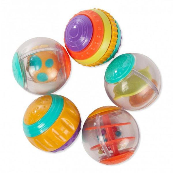Купить BRIGHT STARTS 9079 Развивающая игрушка Забавные шарики , Развивающие игрушки для малышей BRIGHT STARTS