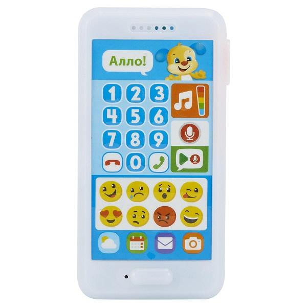 Купить Mattel Fisher-Price FPR23 Фишер-Прайс Телефон Ученого щенка, Музыкальная игрушка Mattel Fisher-Price