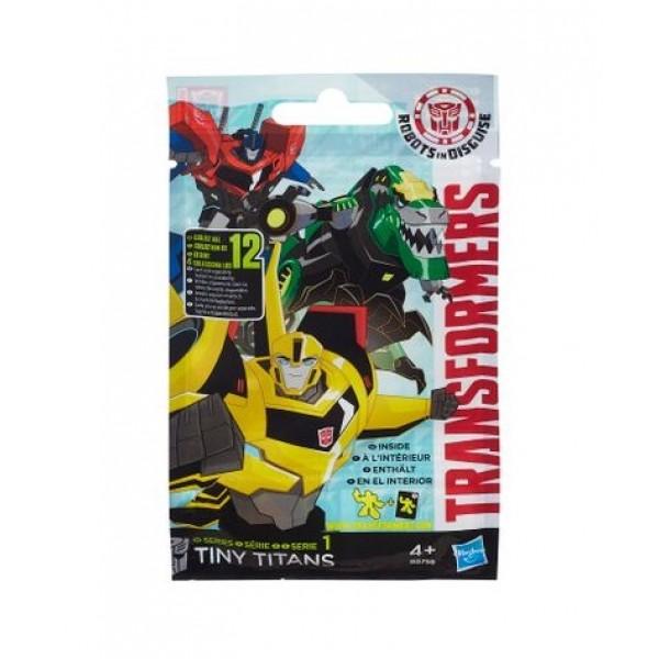Фигурка трансформер Hasbro Transformers Transformers B0756 Трансформеры Мини-Титаны
