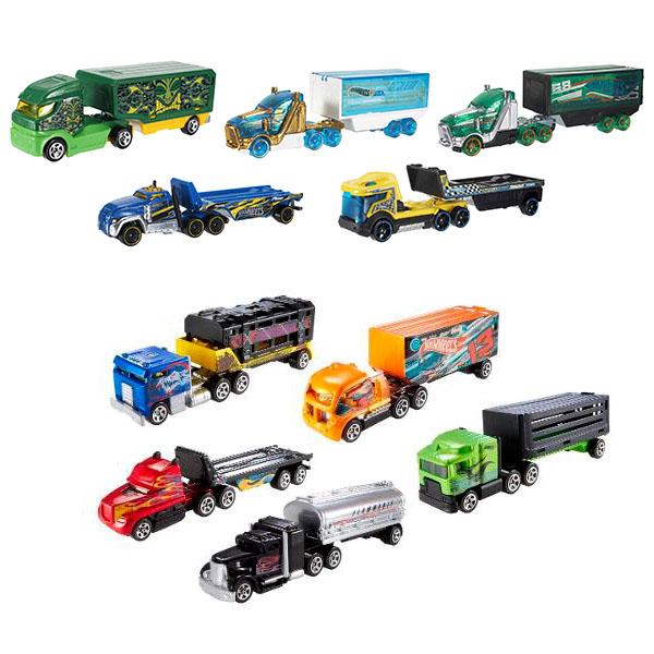 Купить Mattel Hot Wheels BFM60 Хот Вилс Большие тягачи (в ассортименте), Машинка Mattel Hot Wheels