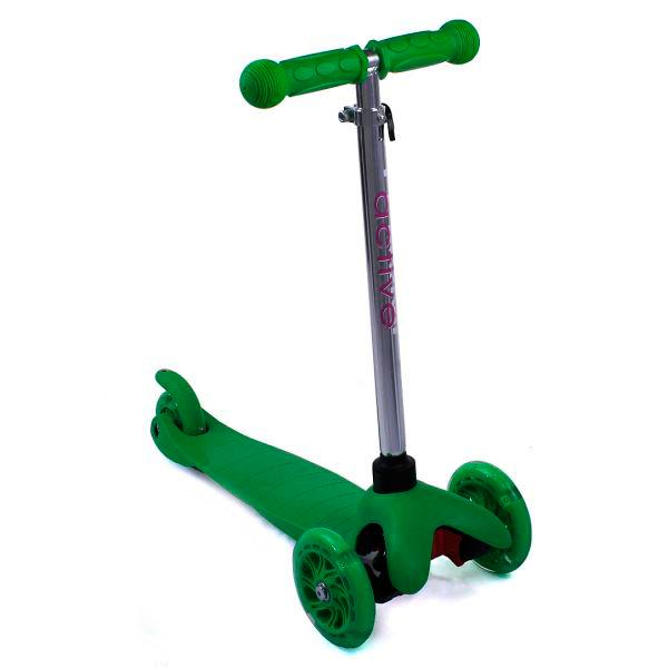Купить Самокат трехколесный Triumf active 06AHgr зеленый, Самокаты Самокаты