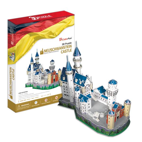 Купить Cubic Fun MC062h Кубик фан Замок Нойшванштайн (Германия), 3D пазлы Cubic Fun