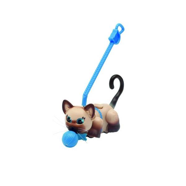 Игровой набор Pet Club Parade PTC00222 Пет Клаб Парад Фигурка кошечки с мячиком и поводком, в ассортименте