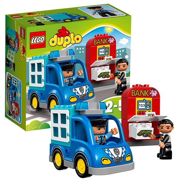 Купить Lego Duplo 10809 Лего Дупло Полицейский патруль, Конструктор LEGO