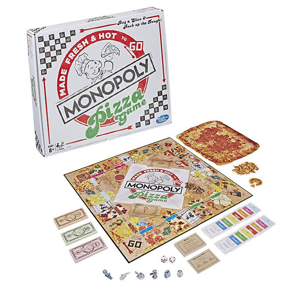 Купить Hasbro Monopoly E5798 Игра настольная Монополия пицца , Настольные игры Hasbro Monopoly