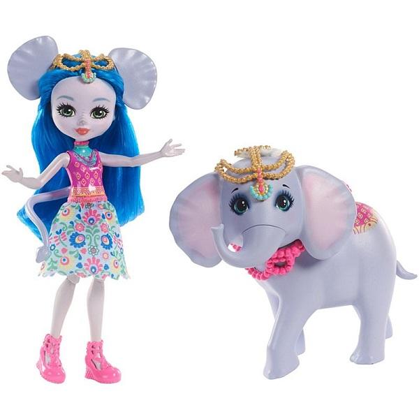 Купить Mattel Enchantimals FKY73 Кукла с большой зверюшкой, Куклы и пупсы Mattel Enchantimals
