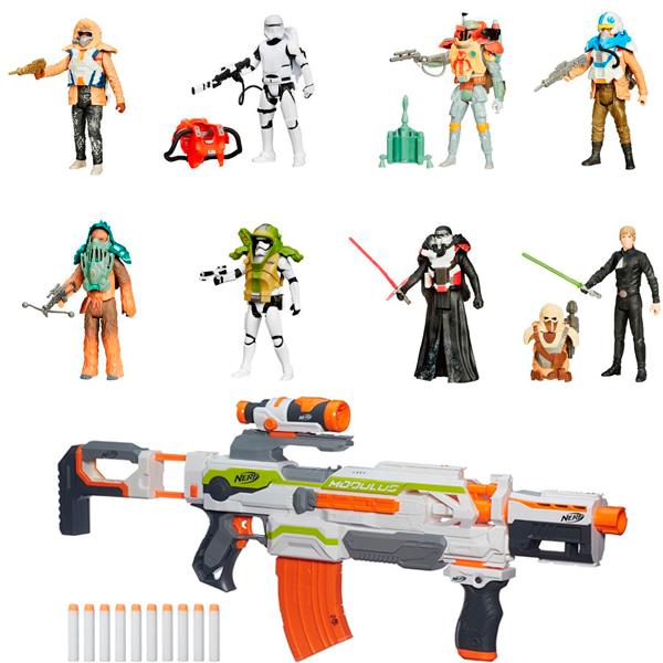 Hasbro Star Wars B3886N Бластер Модулус + фигурка Звездных войн 9,5 см - Звездные Войны, артикул:151463