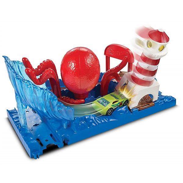 Купить Mattel Hot Wheels FNP61 Хот Вилс Сити с монстрами-злодеями игровой набор, Игровые наборы Mattel Hot Wheels