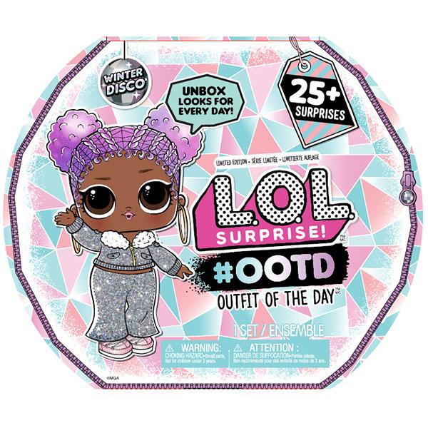 """Игровые наборы и фигурки для детей L.O.L. Surprise 562504 Модный образ """"Зимнее диско"""" (25 сюрпризов) фото"""