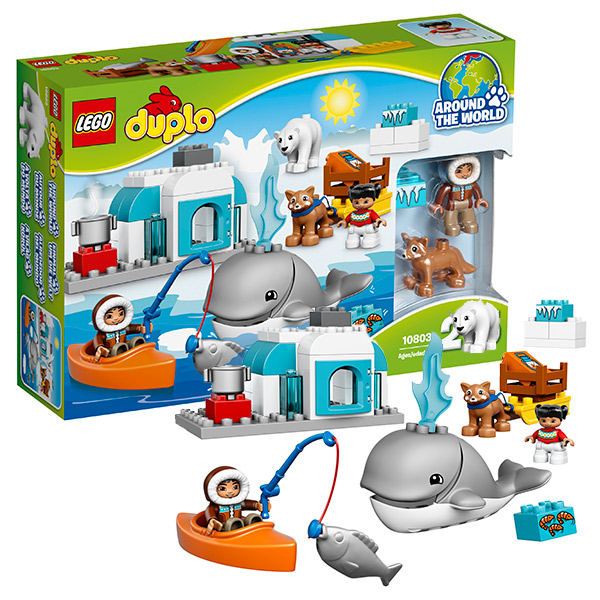 Lego Duplo 10803 Конструктор Лего Дупло Вокруг света: Арктика
