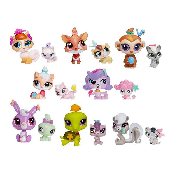 Купить Hasbro Littlest Pet Shop A7313 Литлс Пет Шоп Зверюшка и ее малыш (в ассортименте), Набор фигурок Hasbro Littlest Pet Shop
