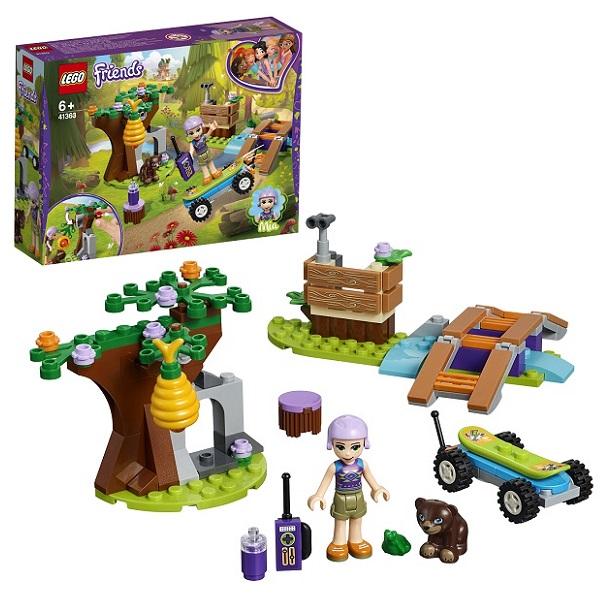 Купить Lego Friends 41363 Конструктор Лего Подружки Приключения Мии в лесу, Конструкторы LEGO