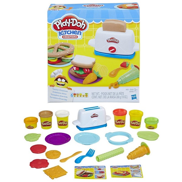 Hasbro Play-Doh E0039 Плей До Тостер