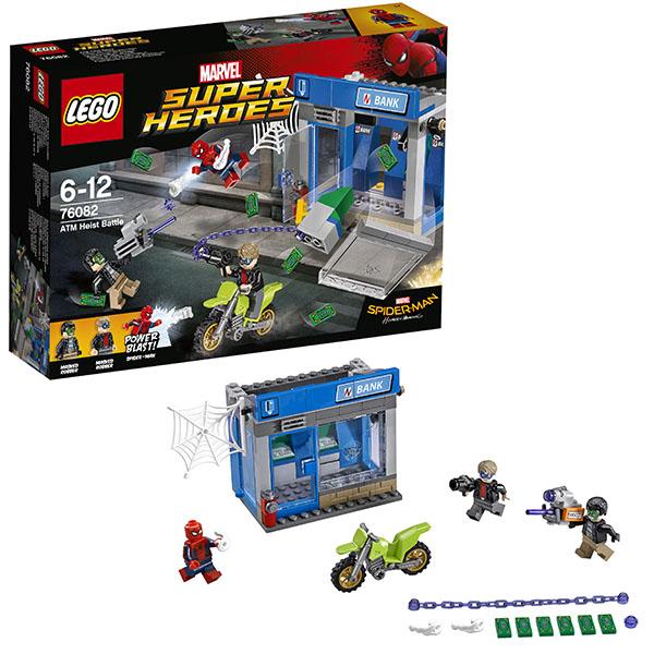 Купить Lego Super Heroes 76082 Лего Супер Герои Ограбление банкомата, Конструктор LEGO
