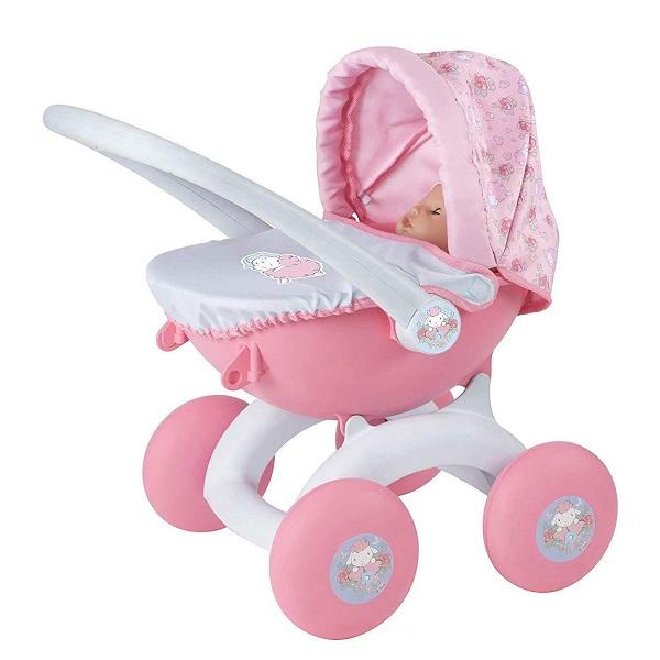 Купить Zapf Creation Baby Annabell 1423571 Бэби Аннабель Коляска для куклы высотой 36 см, Аксессуары для куклы Zapf Creation