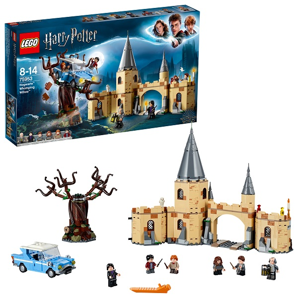 Lego Harry Potter 75953 Конструктор Лего Гарри Поттер Побег Гремучая ива - Конструкторы LEGO