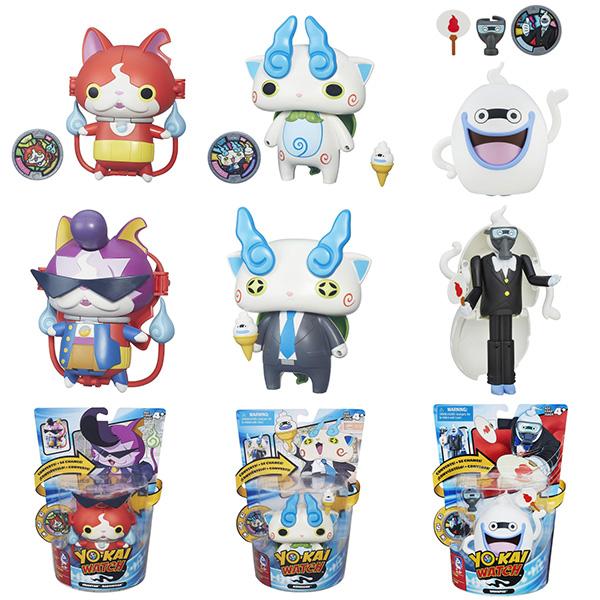 Купить Hasbro Yokai Watch B5946 Йо-кай Вотч: Меняющаяся фигурка с Медалью (в ассортименте), Фигурка Hasbro Yokai Watch