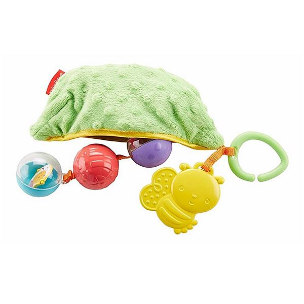 Купить Mattel Fisher-Price DRD79 Фишер Прайс Плюшевая игрушка-погремушка Горошек , Развивающие игрушки для малышей Mattel Fisher-Price