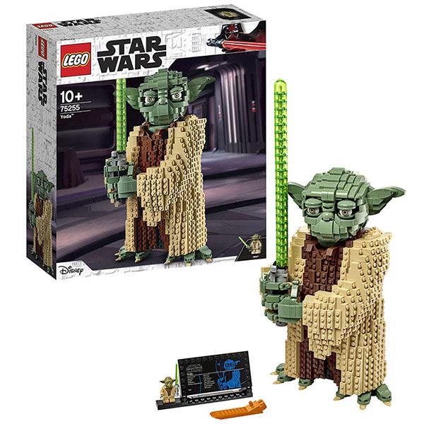 Купить LEGO Star Wars 75255 Конструктор ЛЕГО Звездные войны Йода, Конструкторы LEGO