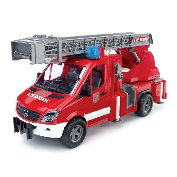 Купить Bruder 02-532 MB Sprinter Пожарная машина с лестницей и помпой, Игрушечные машинки и техника Bruder