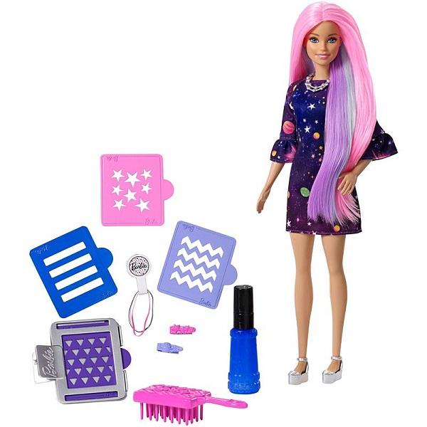 Mattel Barbie FHX00 Барби Цветной сюрприз - Куклы и аксессуары