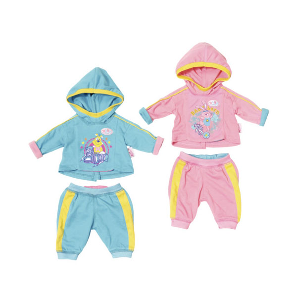 Купить Zapf Creation Baby born 823-774 Бэби Борн Спортивный костюмчик (в ассортименте), Одежда для куклы Zapf Creation