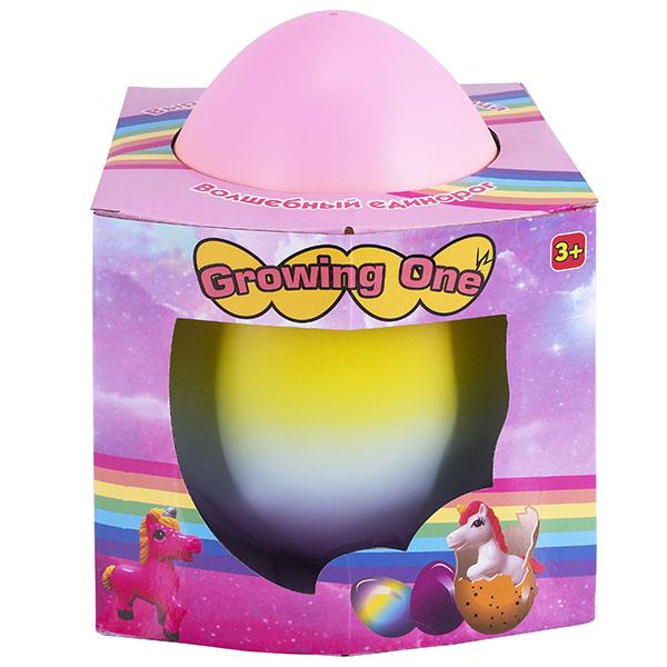 Игровые наборы и фигурки для детей Growing One Growing One TAV046 Яйцо с единорогом, растущим в воде, огромное по цене 949