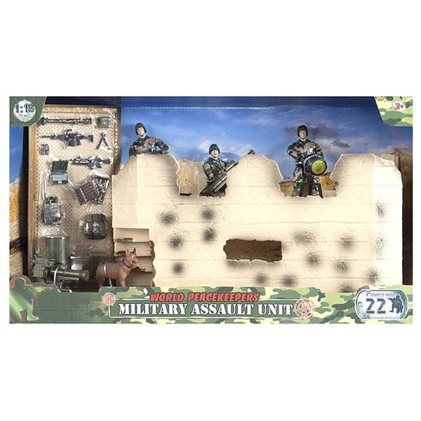 """Игровые наборы и фигурки для детей World Peacekeepers World Peacekeepers MC77082 Игровой набор """"Штурмовая группа"""" 2 фигурки, 1:18 по цене 1 699"""