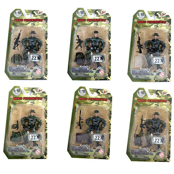 Купить World Peacekeepers MC77001 Игровой набор Солдат 1:18 (в ассортименте), Игровые наборы и фигурки для детей World Peacekeepers