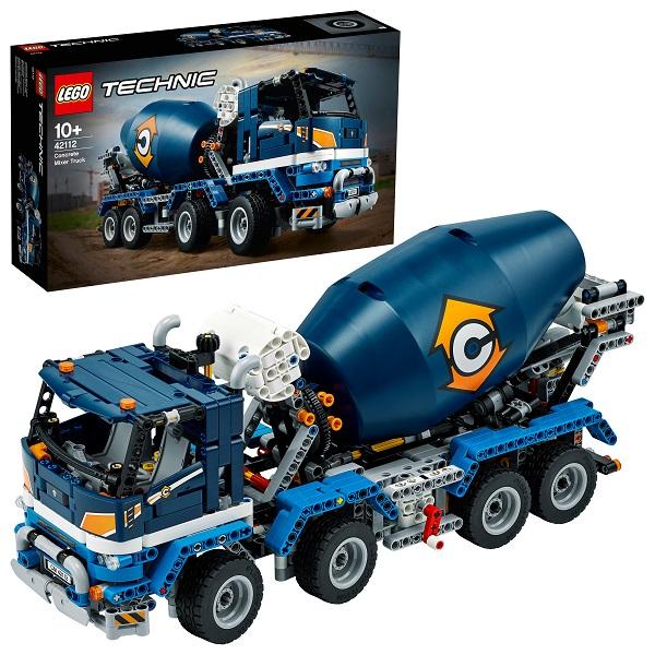 LEGO Technic 42112 Конструктор ЛЕГО Техник Бетономешалка по цене 8 399