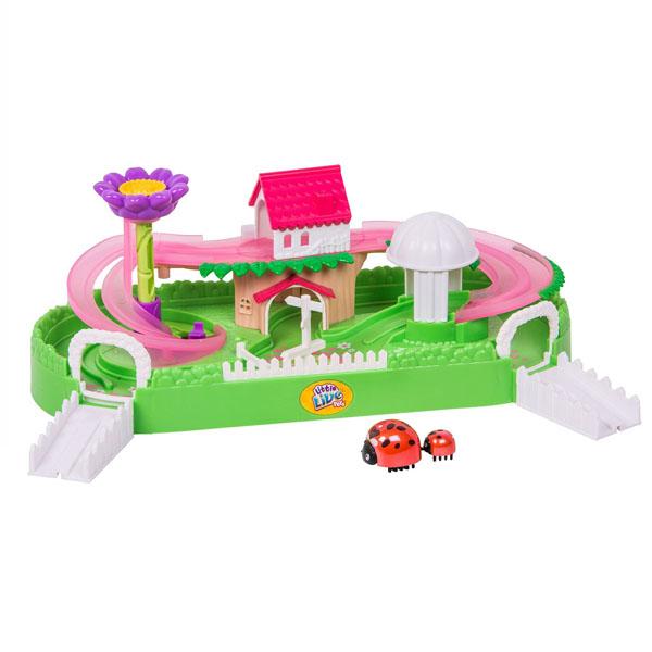 Купить Little Live Pets 28449 Игровой набор Летний сад с божьей коровкой, Игровые наборы и фигурки для детей Little Live Pets