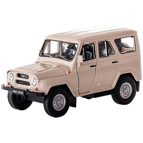 Купить Welly 42380 Велли Модель машины 1:34-39 УАЗ 31514, Машинка инерционная Welly