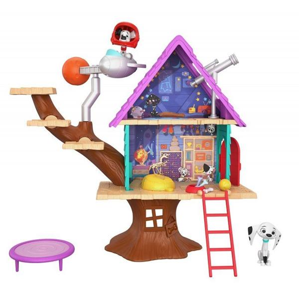 """Кукольный домик Mattel 101 Dalmatians® GDL88 Игровой набор """"Домик на дереве"""" фото"""