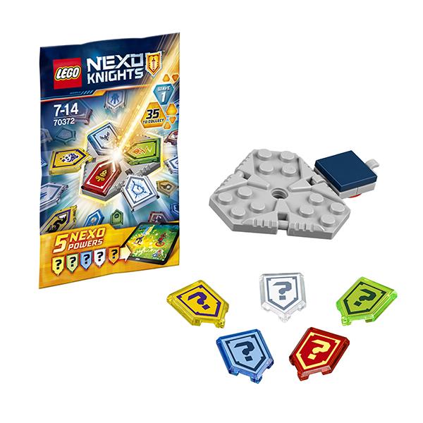 LEGO Nexo Knights 70372 Конструктор ЛЕГО Нексо Комбо NEXO Силы 1 - Конструкторы для мальчиков и девочек
