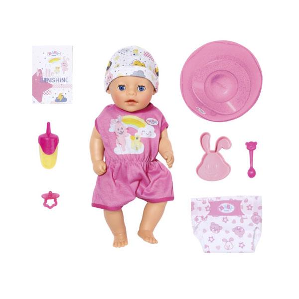 Купить Zapf Creation Baby born 827-321 Бэби Борн my little BABY born Девочка Нежное прикосновение, 36 см, Куклы и пупсы Zapf Creation