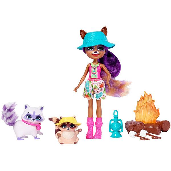 Купить Mattel Enchantimals FJJ29 Игровой набор Кемпинг , Куклы и пупсы Mattel Enchantimals
