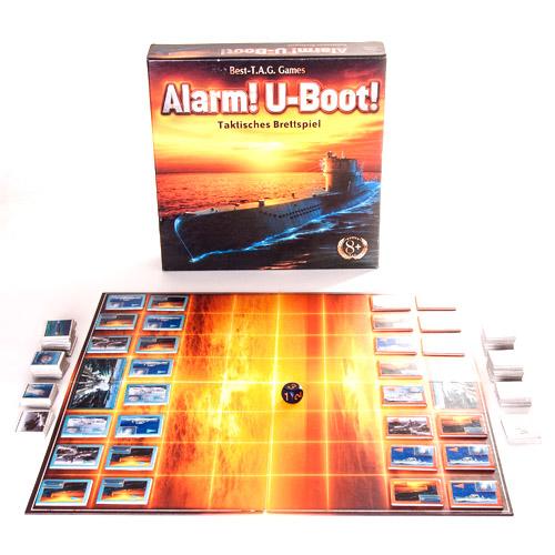 Alarm! U-boat! 4909282 Настольная игра Внимание! Субмарина!