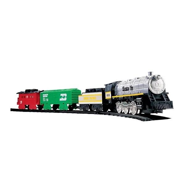 Купить Eztec 60626 Железная дорога SANTA FE SPECIAL TRAIN SET (29 частей), Наборы игрушечных железных дорог, локомотивы, вагоны Eztec