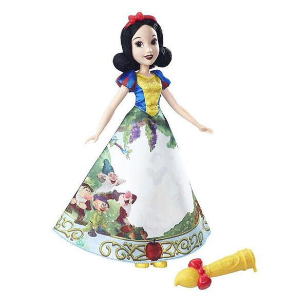 Купить Hasbro Disney Princess B5295/B6851 Модная кукла Принцесса с проявляющимся принтом Белоснежка, Куклы и пупсы Hasbro Disney Princess