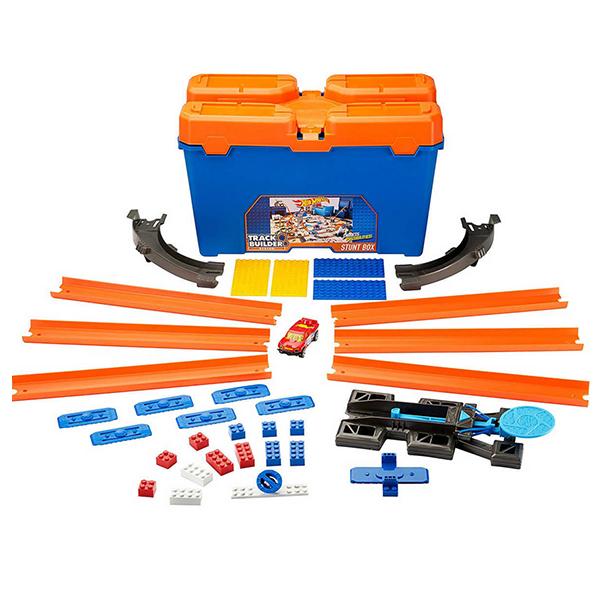 Купить Mattel Hot Wheels DWW95 Хот Вилс Стартовый набор конструктора трасс, Игровой набор Mattel Hot Wheels
