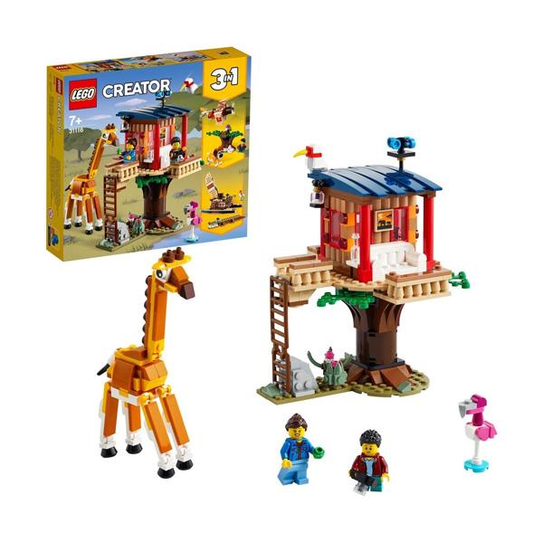 Купить LEGO Creator 31116 Конструктор ЛЕГО Криэйтор Домик на дереве для сафари, Конструкторы LEGO