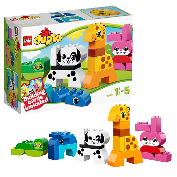 Lego Duplo 10573 Лего Дупло Веселые зверушки
