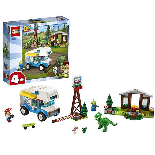 Купить LEGO Juniors 10769 Конструктор Лего Джуниорс История игрушек-4: Весёлый отпуск, Конструкторы LEGO