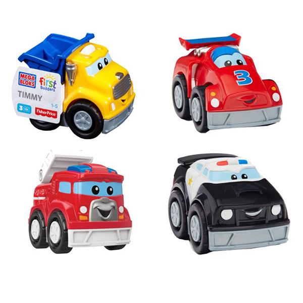 Конструктор Mattel Mega Bloks - Машинки для малышей (1-3), артикул:146970