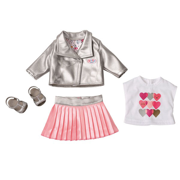 Купить Zapf Creation Baby born 824-931 Бэби Борн Одежда Законодательница моды, Куклы и пупсы Zapf Creation