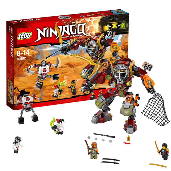 Конструктор LEGO - Ниндзяго, артикул:139789
