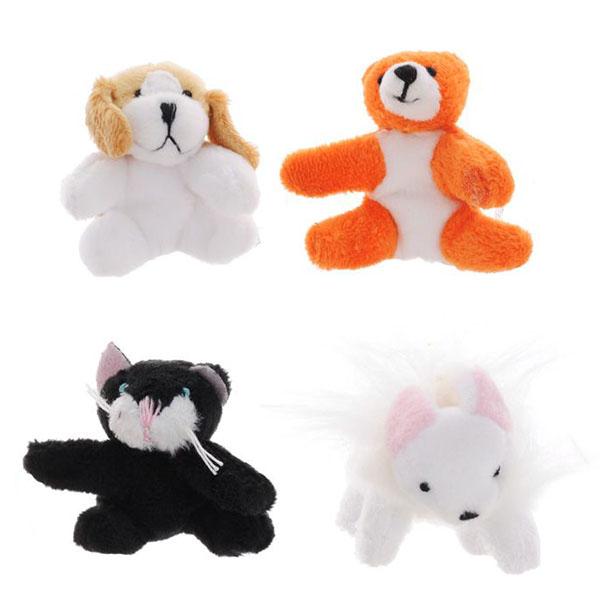 Купить Beanzees B34021 Бинзис Мини плюш в наборе Мышка, Котик, Медведь, Песик , Игровые наборы и фигурки для детей Beanzeez